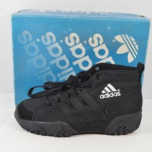 Vintage Adidas Mens 6.5 Canvas BB Basketball Shoes